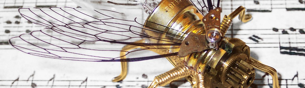 Steampunk Clockwork Fly