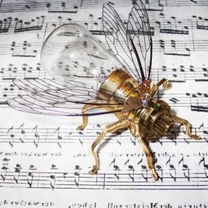 Steampunk Clockwork Fly