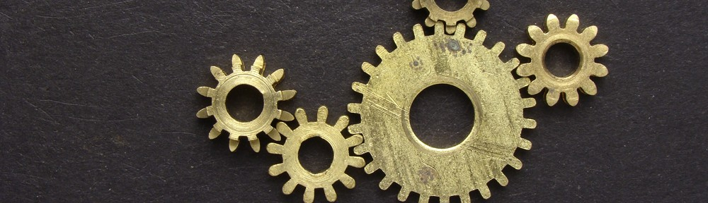 brass gears for steampunk art projects jewelry and costumes