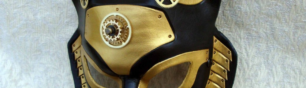 Industrial Anubis Egyptian Steampunk mask