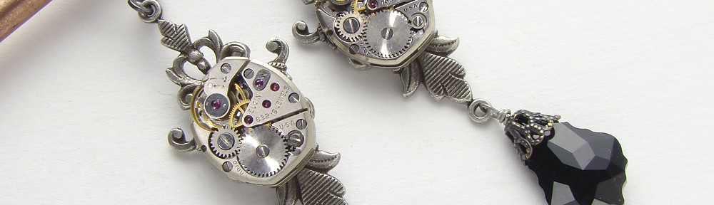 Steampunk-earrings-Maria-Sparks-1