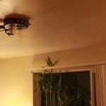 Steampunk ceiling light (3)