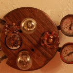 Steampunk ceiling light (6)