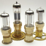 Steampunk vacuum tube flash drive