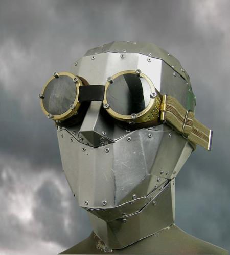 Steampunk goggles by Atomefabrik