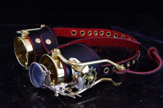 Steampunk goggles by Steampunkdesign