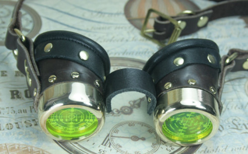 retro goggles by SteampunkCorporation