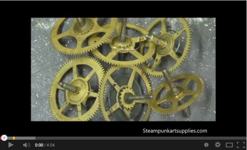 Steampunk tutorials videos