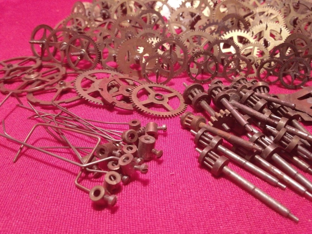 vintage clock gears (4)