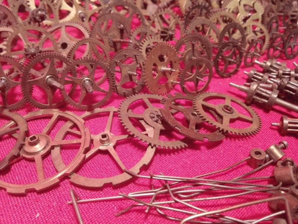 vintage clock gears (6)