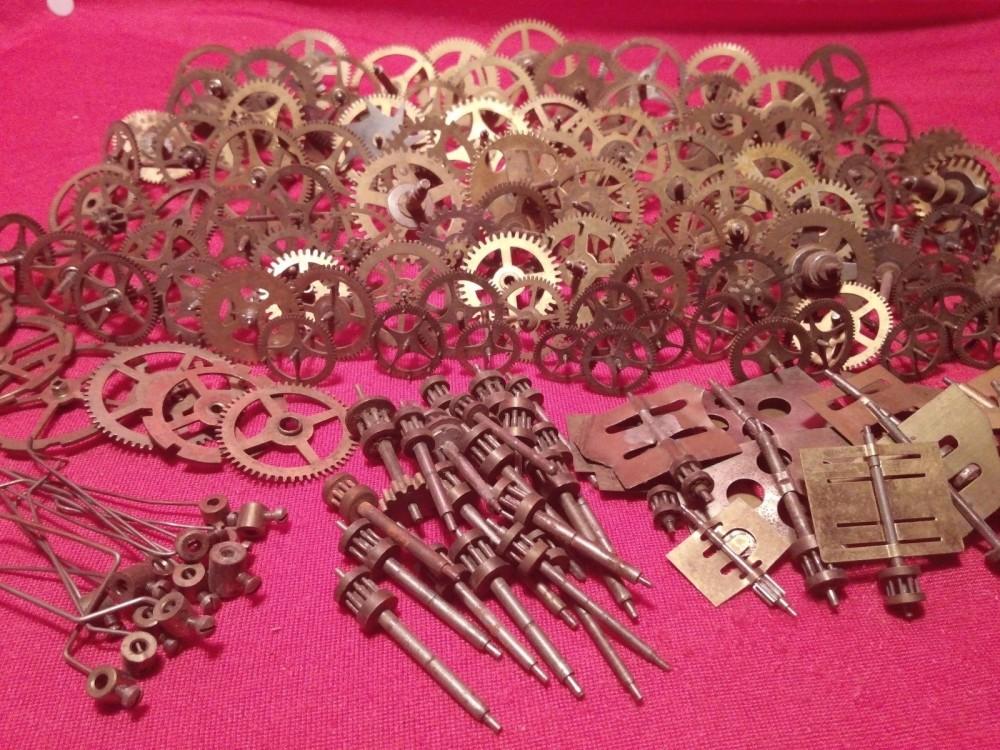 vintage clock gears (7)